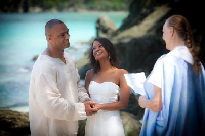 Apply for your St. John wedding