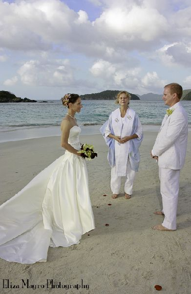 Barefoot Caribbean Wedding