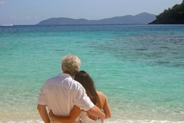 Romance in the US Virgin Islands