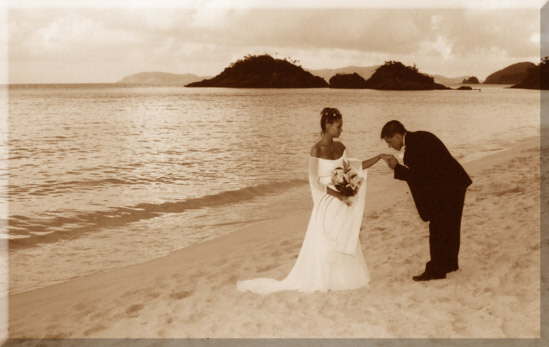 Romantic beach weddings in the US Virgin Islands with Anne Marie ...