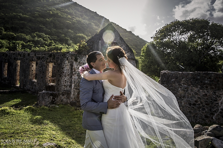 About a St John's Barefoot Minister wedding