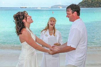 Fun and Stress-free St John Wedding