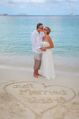 Just-Married-on-the-beach-in-St-John
