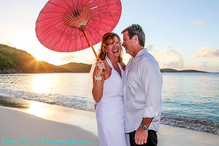 Re-marry your mate on the beach