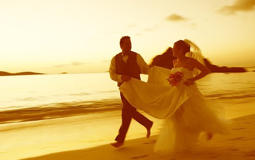 Wedding on St John in the USVI