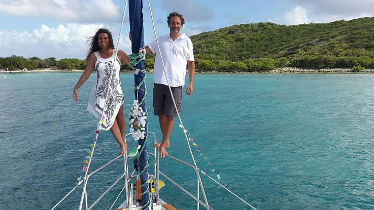 Sailboat Wedding on St John testimonial
