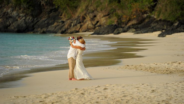 Romantic VI National Park Beach Wedding