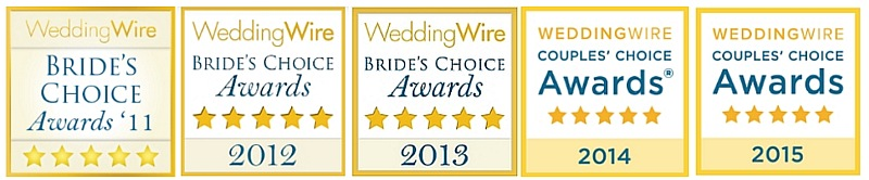 WeddingWire Awards for Anne Marie