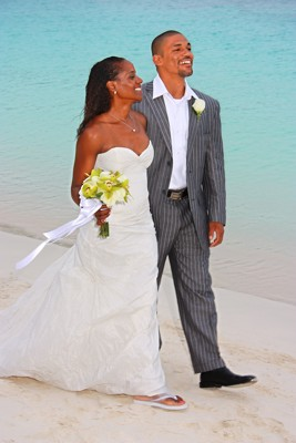 Caribbean Beach Wedding on St John