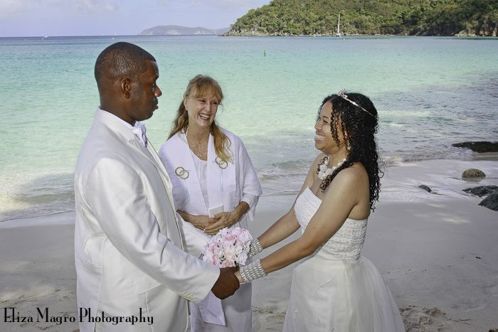 Virgin Island Beach Wedding Testimonial