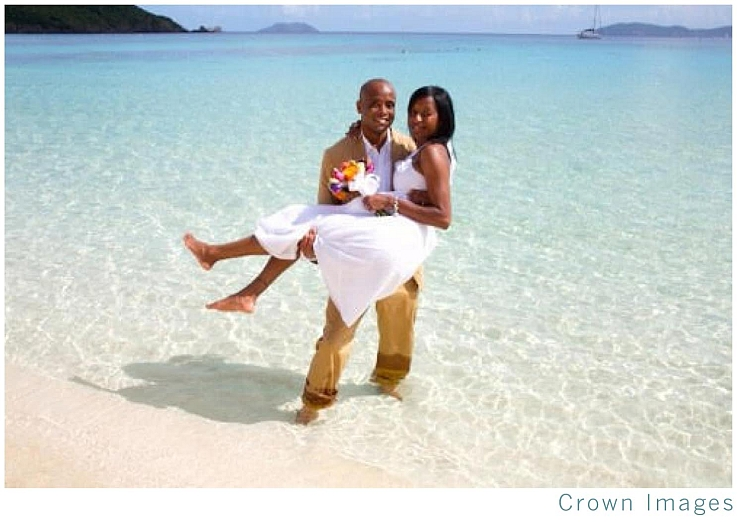 Get married on the beach.